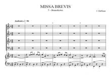 Benedictus from Missa Brevis – Jacob de Haan