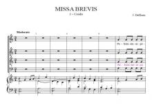 Credo from Missa Brevis - Jacob de Haan