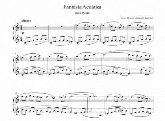 Sheets music for Piano III - Level of difficulty: Moderate