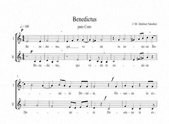 Artandscores | Partituras para coro II - Nivel de dificultad: fácil