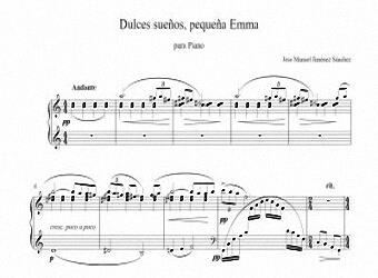 Sheet music for Piano - Level of difficulty: Moderate