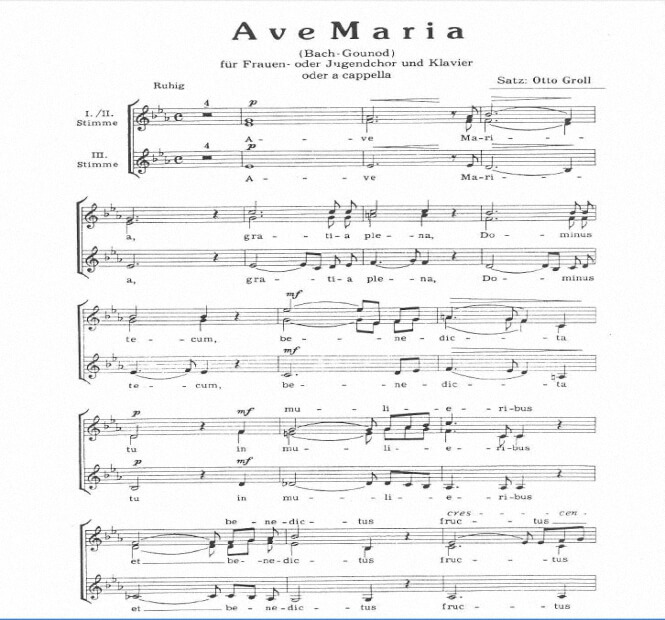 Artandscores | Ave Maria - Charles Gounod