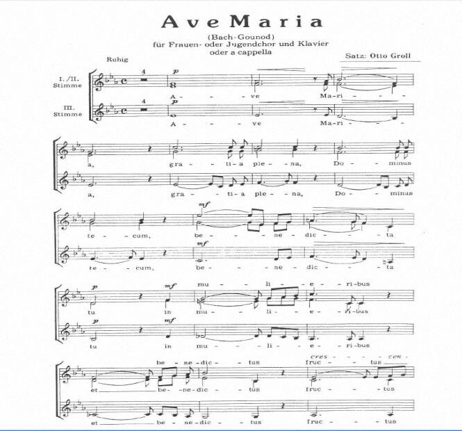 Artandscores   Ave Maria - Charles Gounod