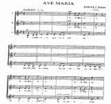 Ave Maria - Z. Kodaly   artandscores.com