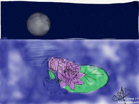 Artandscores | Breve nocturno, partitura para Piano