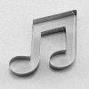 Corcheas for sheet music © artandscores.com