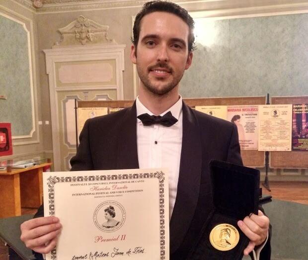 Juan de Dios Mateos Segura gana el segundo premio en  Hariclea - artandscores.com