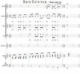 Mare Dolorosa - Pedro Jose Viso | artandscores.com