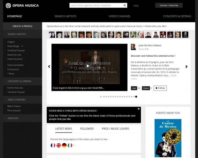 Opera Musica what is ? - artandscores.com