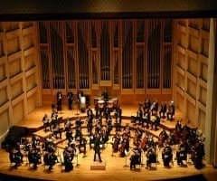 Partitura para Orquesta de cuerda y percusión