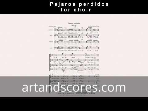 Artandscores | Lost birds, partitura para coro