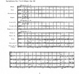 Artandscores | Symphony No. 7 in A Major (Op.92)