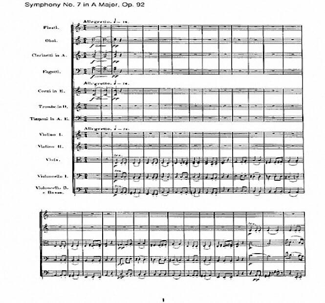 Sinfonía no 7 en la major Op. 92
