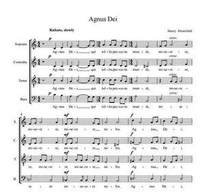 Agnus Dei – Sherry Porterfield