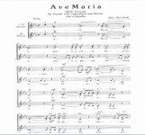 Ave Maria - Charles Gounod | artandscores.com